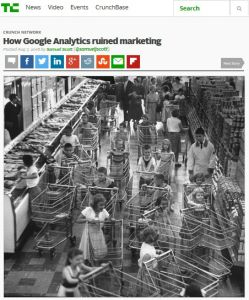 How Google Analytics Ruined Marketing