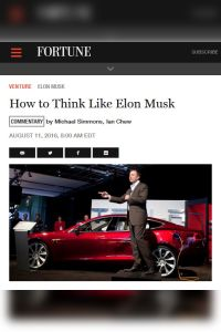How to Think Like Elon Musk summary