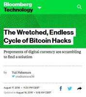 The Wretched, Endless Cycle of Bitcoin Hacks summary
