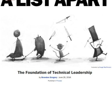 The Foundation of Technical Leadership