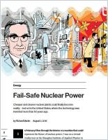 Fail-Safe Nuclear Power summary