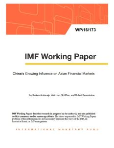 China's Growing Influence on Asian Financial  Markets summary