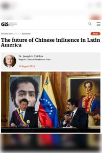 The Future of Chinese Influence in Latin America summary