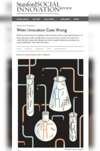 When Innovation Goes Wrong summary
