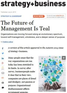 The Future of Management Is Teal summary
