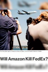 Will Amazon Kill FedEx? summary