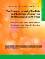 The Economic Impact of Conflicts and the Refugee Crisis in the Middle East and North Africa summary