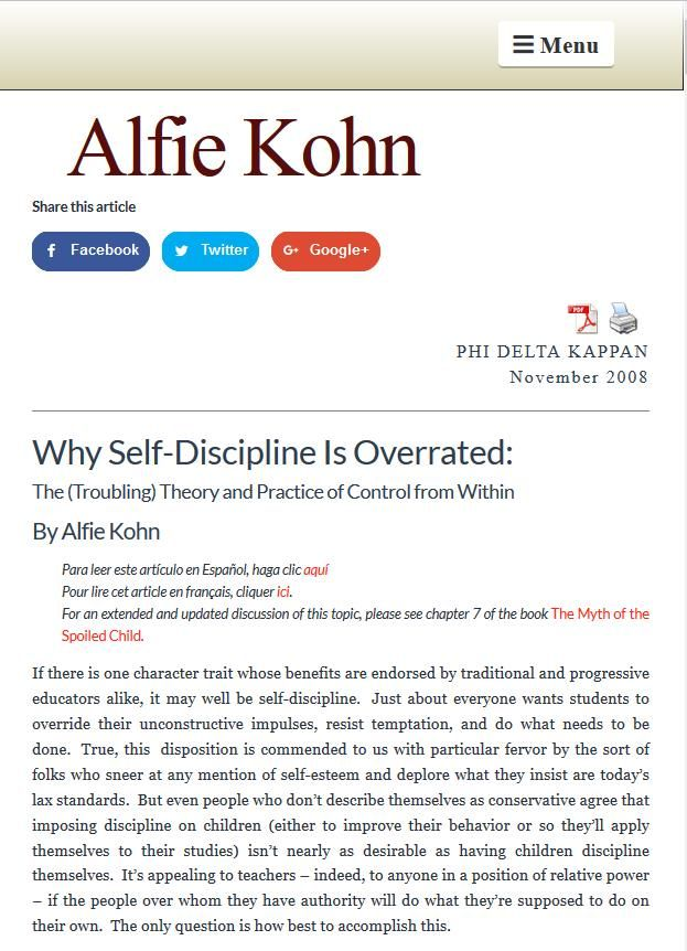 Image of: Why Self-Discipline Is Overrated