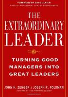 The Extraordinary Leader book summary