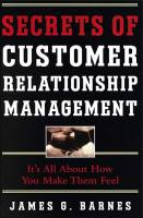 Secrets of Customer Relationship Management book summary