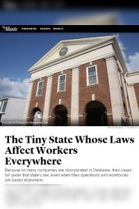 The Tiny State Whose Laws Affect Workers Everywhere summary