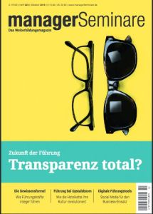 Transparenz total?