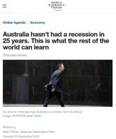 Australia Hasn't Had a Recession in 25 Years summary