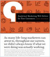 Analytical Marketing Will Deliver for Your Customers summary