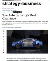The Auto Industry's Real Challenge summary