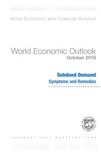 World Economic Outlook October 2016 summary