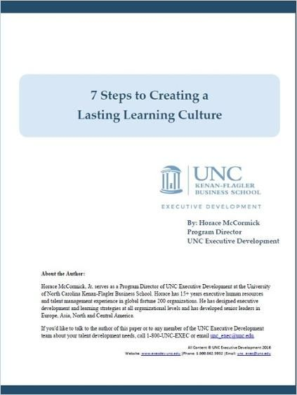 Image of: 7 Steps to Creating a Lasting Learning Culture
