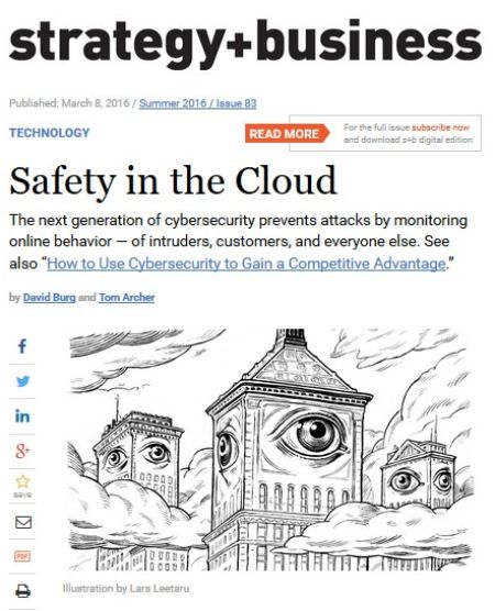 Image of: Safety in the Cloud
