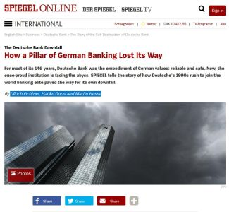How a Pillar of German Banking Lost Its Way summary