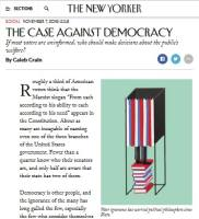 The Case Against Democracy summary