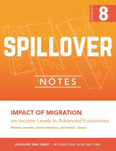 Impact of Migration on Income Levels in Advanced Economies summary