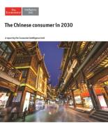 The Chinese Consumer in 2030 summary