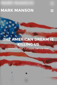 The American Dream Is Killing Us summary