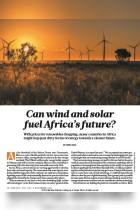 Can Wind And Solar Fuel Africa's Future?