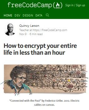 Image of: How to Encrypt Your Entire Life in Less than an Hour