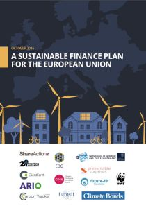 A Sustainable Finance Plan for the European Union summary
