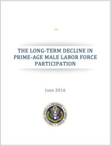 The Long-Term Decline in Prime-Age Male Labor Force Participation