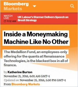 Inside a Moneymaking Machine Like No Other summary