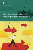 How Frontline Leaders Can Deliver Breakout Performance
