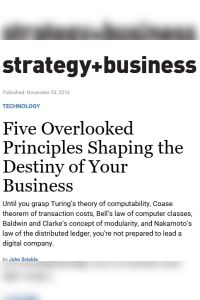 Five Overlooked Principles Shaping the Destiny of Your Business summary