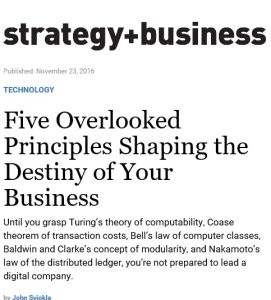 Five Overlooked Principles Shaping the Destiny of Your
