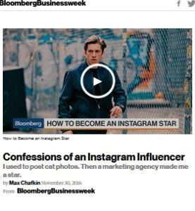 Confessions of an Instagram Influencer