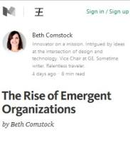 The Rise of Emergent Organizations summary