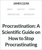 procrastination a common problem and a In general, delaying is not a problem, waiting is not a problem, when we do those   q: what are some common myths around procrastination.