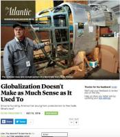Globalization Doesn't Make As Much Sense As It Used To summary