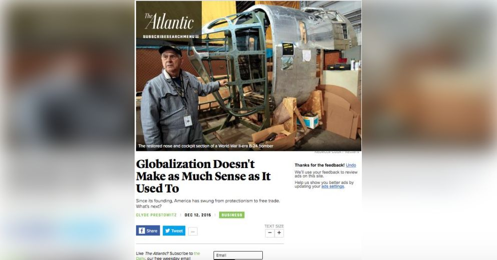short article of globalization