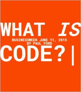 What Is Code? summary