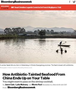 How Antibiotic-Tainted Seafood From China Ends Up on Your Table