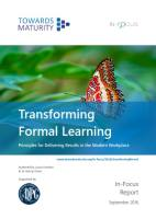 Transforming Formal Learning