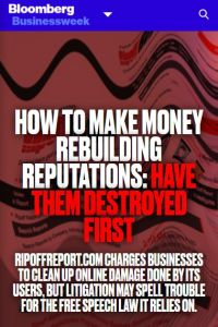 How to Make Money Rebuilding Reputations summary