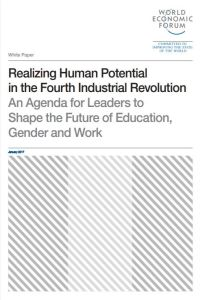 Realizing Human Potential in the Fourth Industrial Revolution summary
