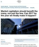 Market Capitalism Should Benefit the Many, Not Just the Few summary