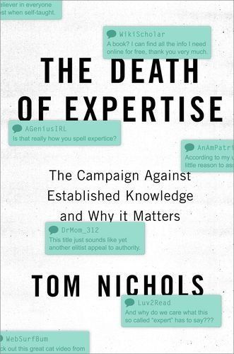Image of: The Death of Expertise