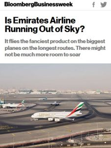 Is Emirates Airline Running Out of Sky? summary
