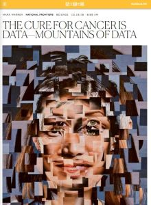 The Cure for Cancer Is Data – Mountains of Data summary