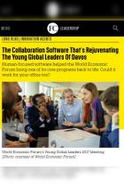 The Collaboration Software That's Rejuvenating the Young Global Leaders of Davos